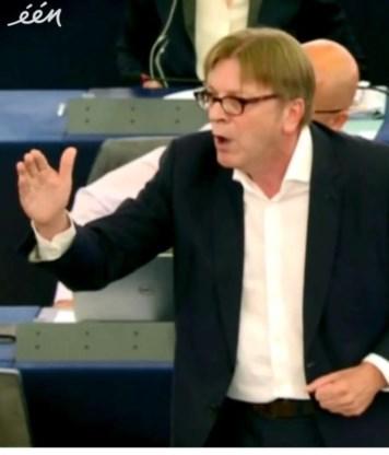 Verhofstadt pleit voor vrouwen.