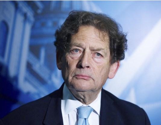 Oude krokodil Nigel Lawson staat weer op het voorplan.