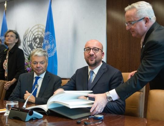 Michel 'verbaasd' over 'onhandig' opiniestuk VS-ambassadrice