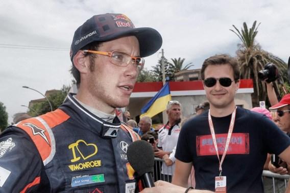 Thierry Neuville moet strijd meteen staken in Rally van Corsica