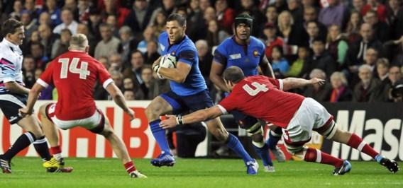 WK RUGBY. Frankrijk naar kwartfinales, ook Wales wint