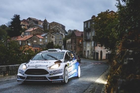 Evans aan de leiding na eerste dag in Rally van Corsica