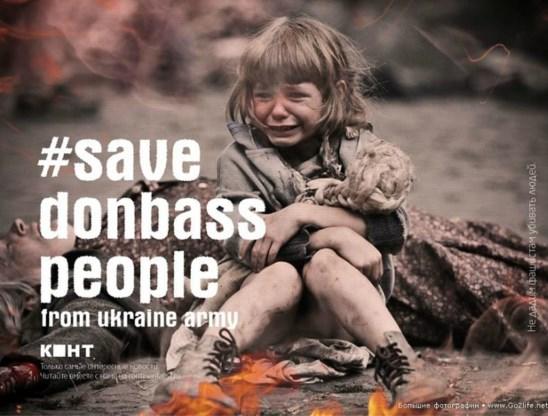 Een aangrijpend beeld van een huilend meisje wordt online gretig gebruikt om de brutaliteit van het Oekraïense regeringsleger in de verf te zetten. Alleen, het beeld is geplukt uit de Russische film 'The Brest Fortress' over de Tweede Wereldoorlog.