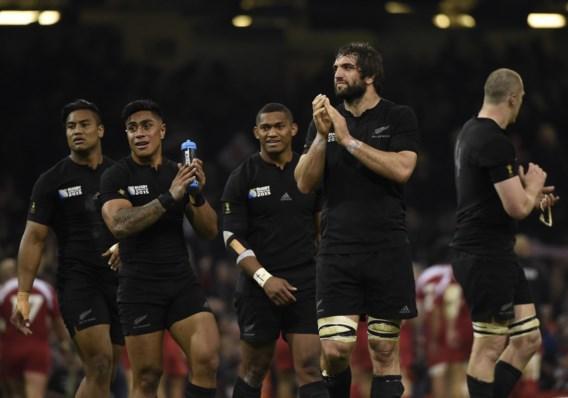 WK RUGBY. It's haka time: All Blacks als eerste naar kwartfinale