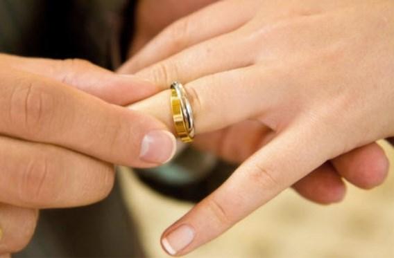Aantal huwelijken stijgt opnieuw lichtjes