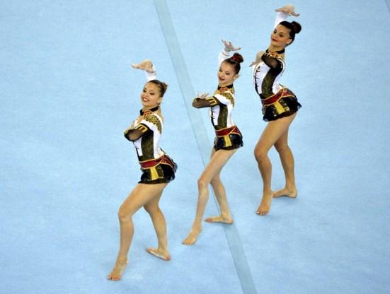 Belgen behalen drie gouden medailles op EK acrogym