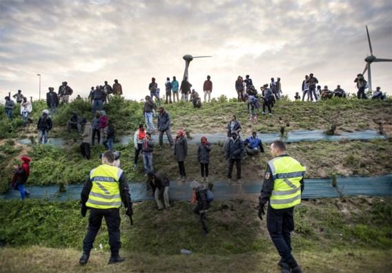 Verkeer in Kanaaltunnel onderbroken door migranten