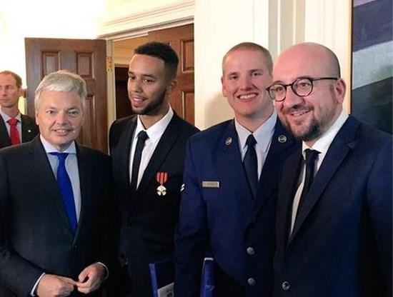 Belgische regering huldigt Thalys-helden: 'Grote eer'