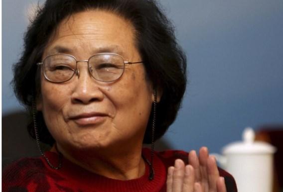 Tu Youyou kreeg de helft van de Nobelprijs voor haar malaria-onderzoek.