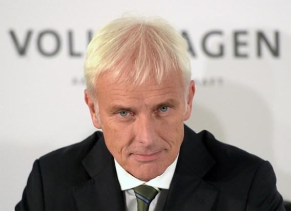 Ceo: 'Dieselgate zal tot reusachtige besparingen leiden bij Volkswagen'