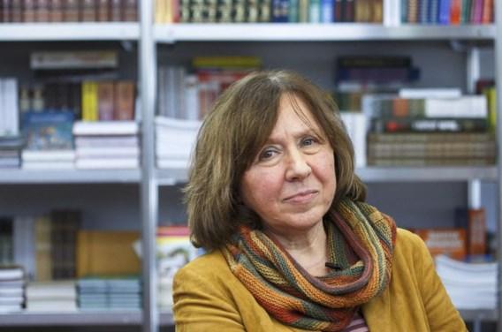 Svetlana Aleksijevitsj laat ons zien dat de Waarheid tegenstrijdigheden herbergt, of dat wie zoekt naar de waarheid vele waarheden vindt.