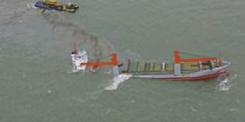Olie uit schip pompen wordt moeilijke opdracht