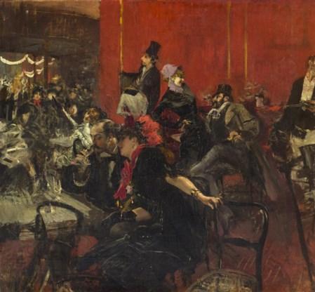 Giovanni Boldini, 'Scène de fête au Moulin Rouge'.