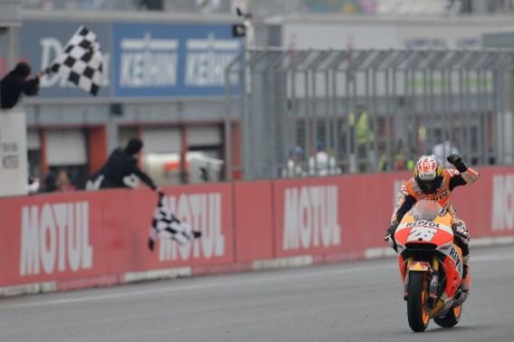Dani Pedrosa wint MotoGP Japan, Belgen vallen uit in Moto2 en Moto3