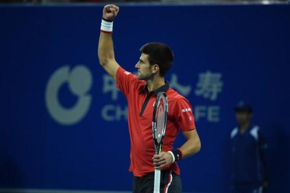 Sublieme Novak Djokovic wint voor zesde keer in Peking
