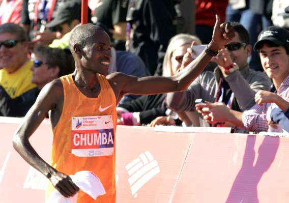 Keniaan Dickson Chumba wint marathon van Chicago