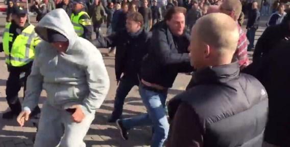 Anti-islamitische betoging leidt tot rellen in Utrecht
