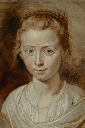 Portret van Clara Serena.