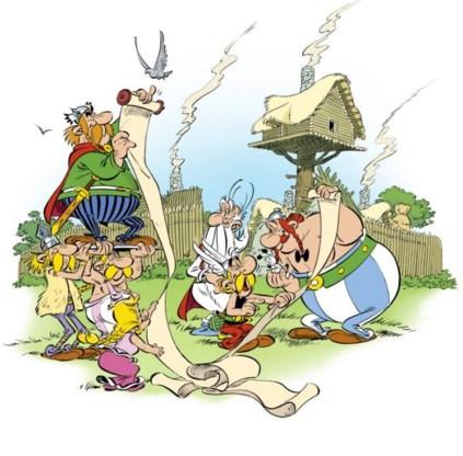 Bij papyrus! Er is een nieuwe Asterix op komst.