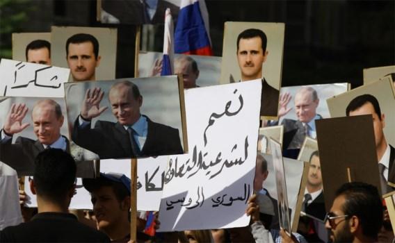 Russische ambassade in Damascus onder vuur genomen