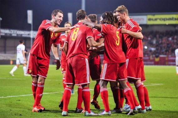 Belgische beloften blijven groepsleider na gelijkspel van Tsjechië