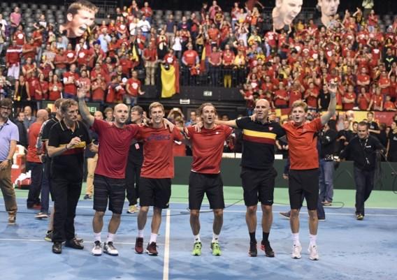 Finale Davis Cup tussen België en Groot-Brittannië is uitverkocht