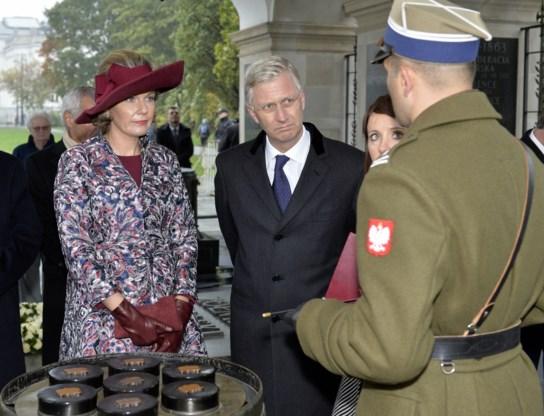 Koning Filip: 'Polen is ons erg dierbaar'