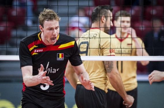 Duitsland te sterk voor Red Dragons op EK volleybal