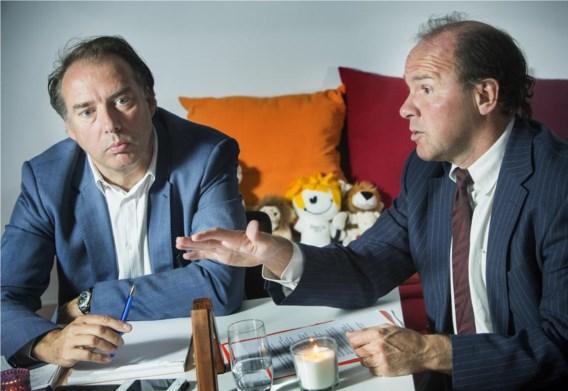 De top van de Vlaamse sport: Philippe Paquay (Bloso/Sport Vlaanderen) en minister Phlippe Muyters.