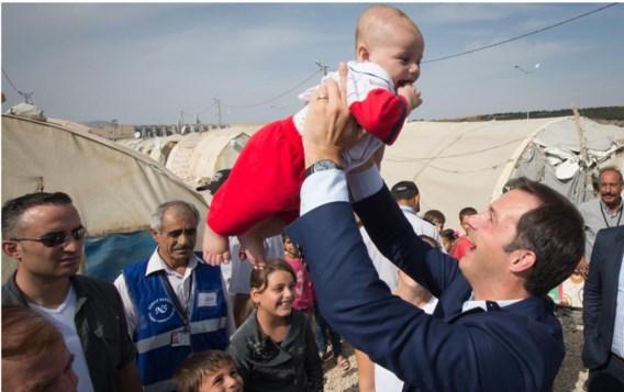 De Croo wil vluchtelingen vooral in de regio zelf een betere toekomst helpen opbouwen.