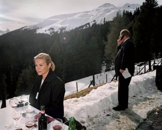 Zwitserland, het World Economic Forum in Davos.