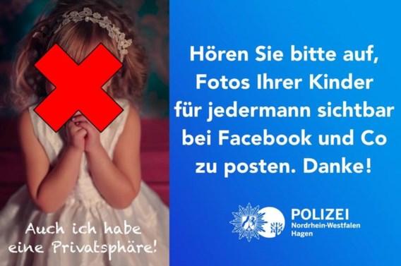 """<p>Met deze foto roept de politie in Hagen op te stoppen met die kinderfoto's op Facebook.<span class=""""credit"""">rr</span></p>"""