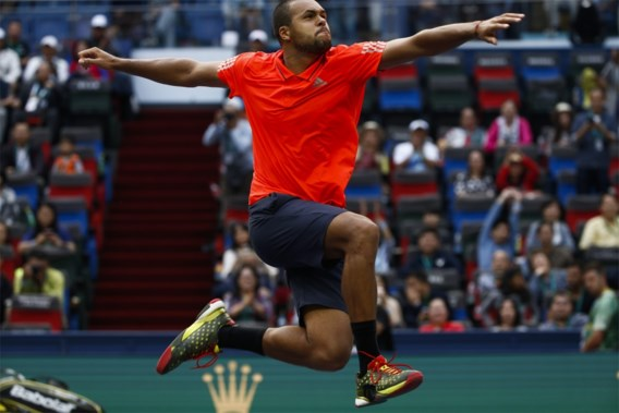 Tsonga is eerste halvefinalist in Shanghai
