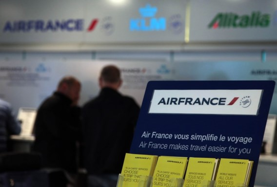 Air France haalt slag thuis tegen piloten