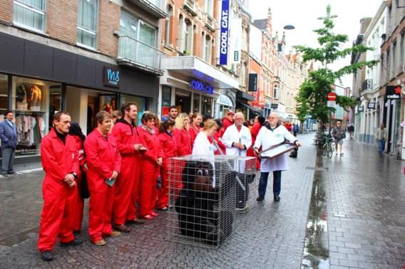 Nieuw protest tegen dierproeven aan rectoraat KU Leuven