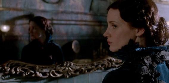 Jessica Chastain speelt een ijskoude, gestoorde en vileine vrouw.