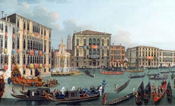 'Regatta op het Canal Grande'