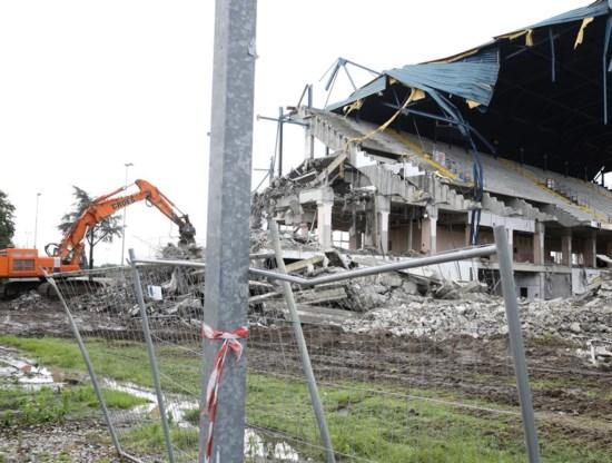 Het Ottenstadion ging in 2014 tegen de vlakte.