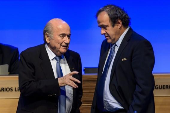 Blatter: 'Betaling aan Platini? Een gentleman's agreement'
