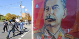 Stalin spreekt pro-Russische separatisten in Donetsk toe