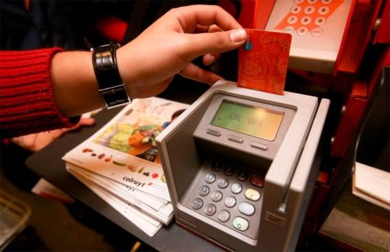 Betalen met kaart onmogelijk in nacht van zondag op maandag