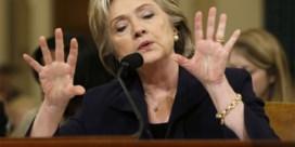 Clinton: 'Ik nam mijn verantwoordelijkheid'