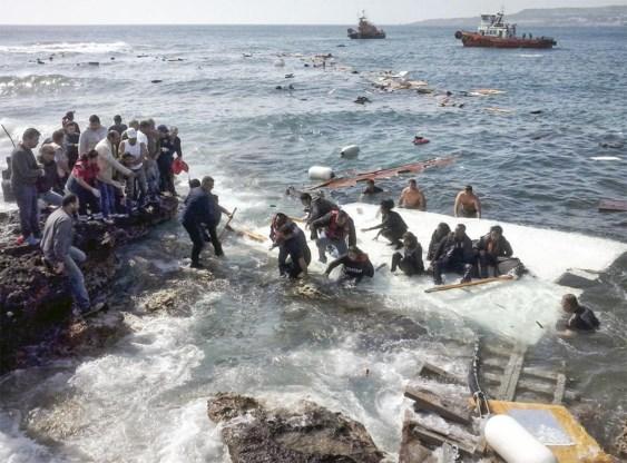 'Spreek over pushbacks en wij tonen de mensen die in al hun kwetsbaarheid terug op zee worden gestuurd.'