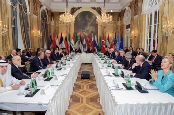 VS, Rusland en Iran raken het niet eens over lot Syrische president
