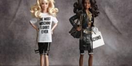 Moschino kleedt nu ook de echte barbiebop