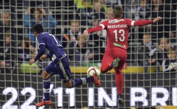 Andy Najar maakte beide doelpunten voor Anderlecht.