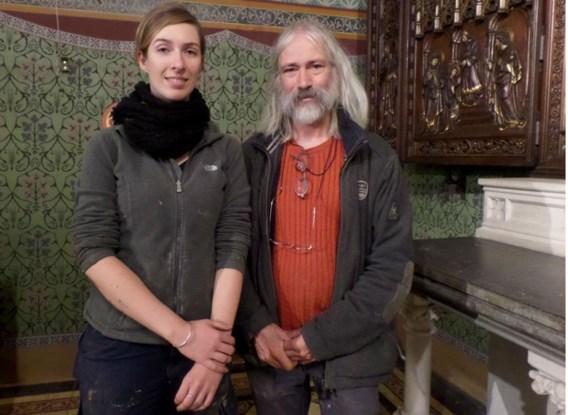 Hugo VandenBorre naast Kathleen Hamaekers: 'Deze kerk zal volk lokken.'