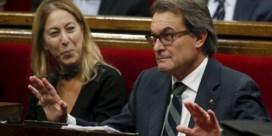 Artur Mas (nog) niet herverkozen als minister-president Catalonië