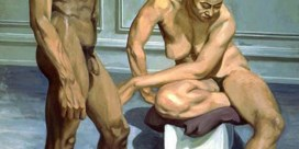 'Two figures'  Philip Pearlstein (1963)