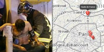 IN KAART. Waar vonden de aanslagen in Parijs plaats?